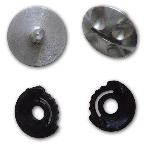 HHe351 - Charly VISOR SCREWS for NO LIMIT/JET