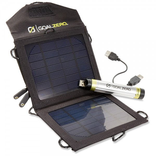Hi74 - Goal Zero SWITCH 8 SOLAR SET Solar Ladeset