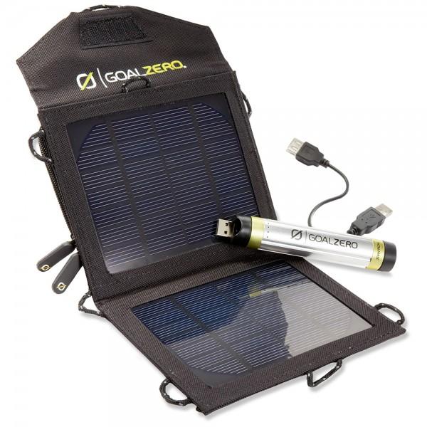 Hi74 - Goal Zero SWITCH 8 SOLAR SET Solar Ladeset