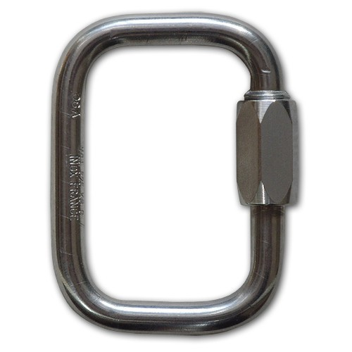 Be304 - Peguet RECTANGULAR SCREW LOCK LINK, Ø 7 mm