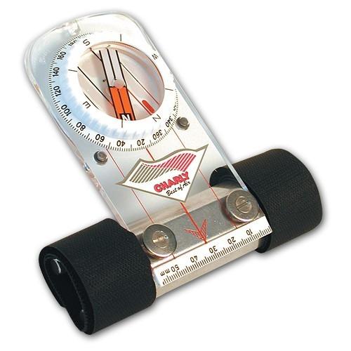 Hi170 - Charly PRÄZISIONS-FLACHKOMPASS mit Speedbarhalter