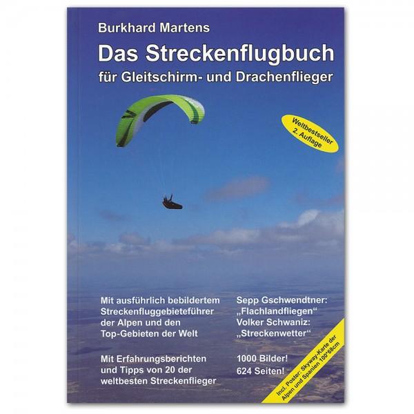 HL1501 - Martens DAS STRECKENFLUGBUCH FÜR GLEITSCHIRM- UND DRACHENFLIEGER