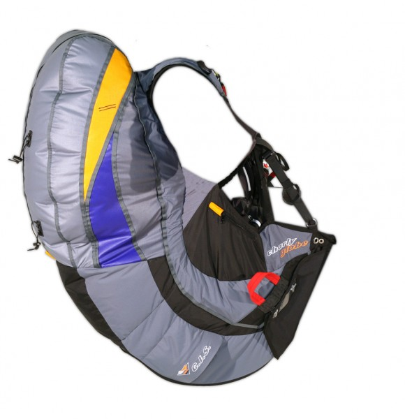 HG7 - Charly GLOBE reversible paragliding harness
