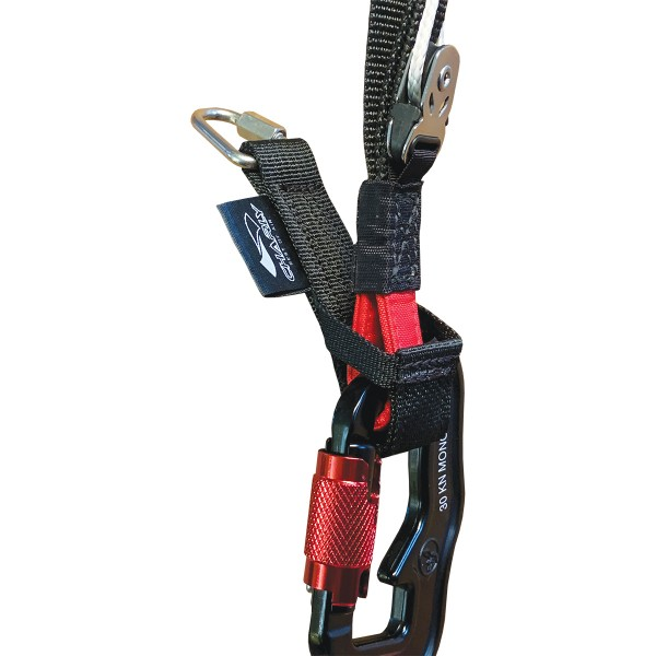 HS50 - Charly TOWING ADAPTER for paragliding carabiners